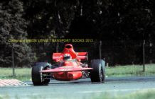 "March 711 Niki Lauda Argentine GP 1972. 10x7"" action photo"